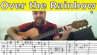 Tutorial: Over the Rainbow - Fingerstyle Guitar w/ TAB