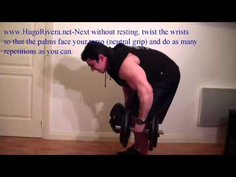 Short -Minute Home Bodybuilding Back Workout Routine