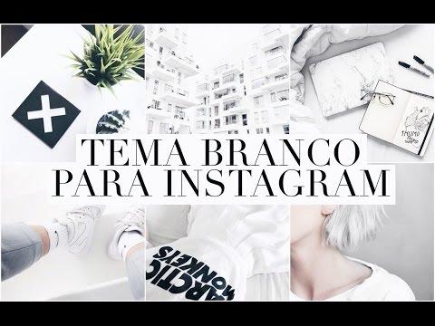 COMO EDITAR AS FOTOS DO INSTAGRAM // TEMA BRANCO ( feed clean  )