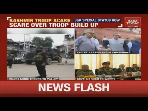 Kashmir Troop Scare : Over 30,000 Troops In A Week, What's Worrying The Valley?