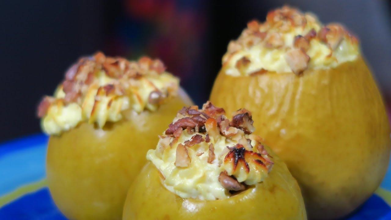 Вкусные печеные яблоки – фоторецепт
