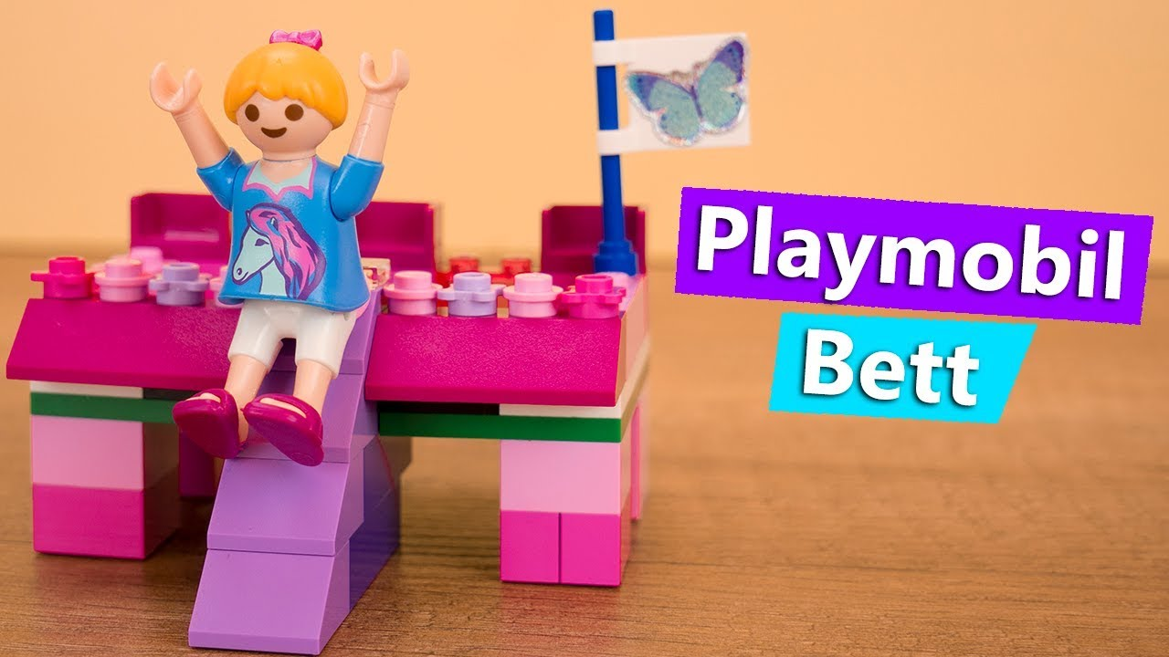 playmobil bett selber machen familie vogel prinzessinnen. Black Bedroom Furniture Sets. Home Design Ideas