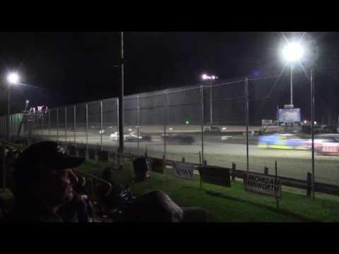 Merritt Speedway 4 Cylinder Feature 9/17/16 Segment 1