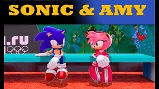 All Sonic and Amy Moments