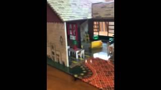 Marx Vintage Tin Dollhouse