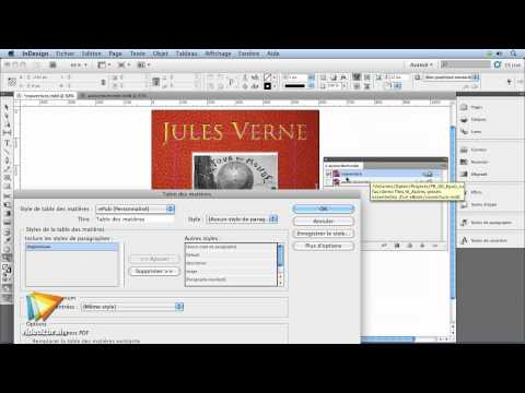 Adobe InDesign CS5 : La création du sommaire