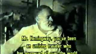02-02 Ernest Hemingway - Interview.avi