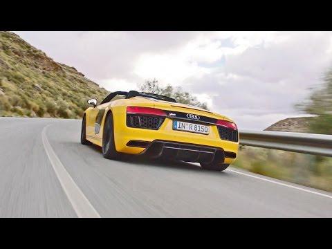 Audi R8 Spyder V10 (2017) Faster, Lighter, More Powerful