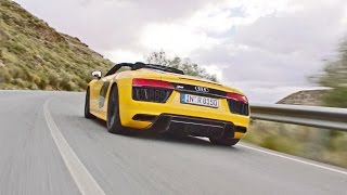 2017 Audi R8 Spyder V10 - Faster, Lighter, More Powerful