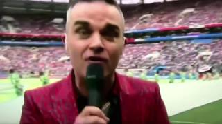 Robbie Williams 2018 World Cup Russia thuglife