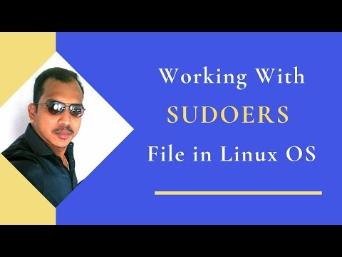 10.Working With SUDOERS File In Linux OS