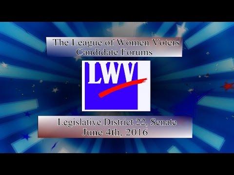 LWV Primary 2016 - WA Senate district 22