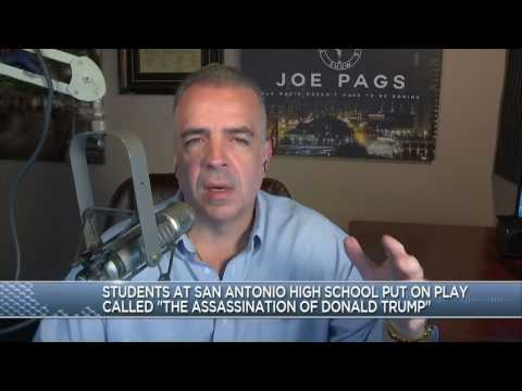 The Joe Pags Show | Students perform mock assassination of Donald Trump