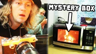 Destroying a Mystery Box THEN Guessing What's Inside!