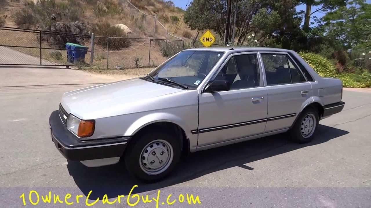 87 Mazda 323 DX Familia BD AP GLC 1 Owner 55,000 Original Miles DOHC