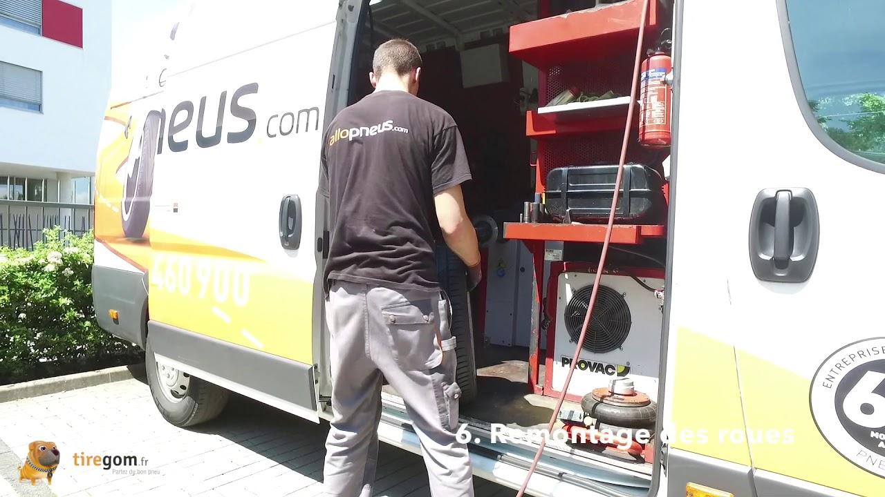 Montage de pneus à domicile : comment ça marche ?