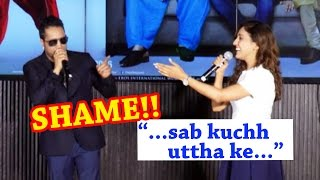 Mika Singh's DIRTY JOKE With Neeti Mohan At Song Launch