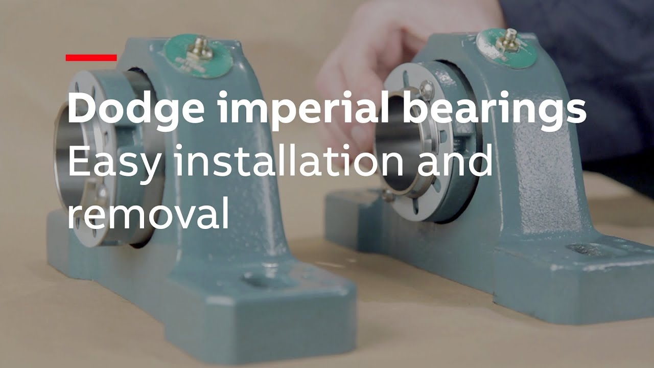 Dodge imperial bearings - Easy installation and removal