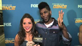 Tiffany and Cyrus - Naughty Routine & Standing Ovations - SYTYCD 9 - Top 6