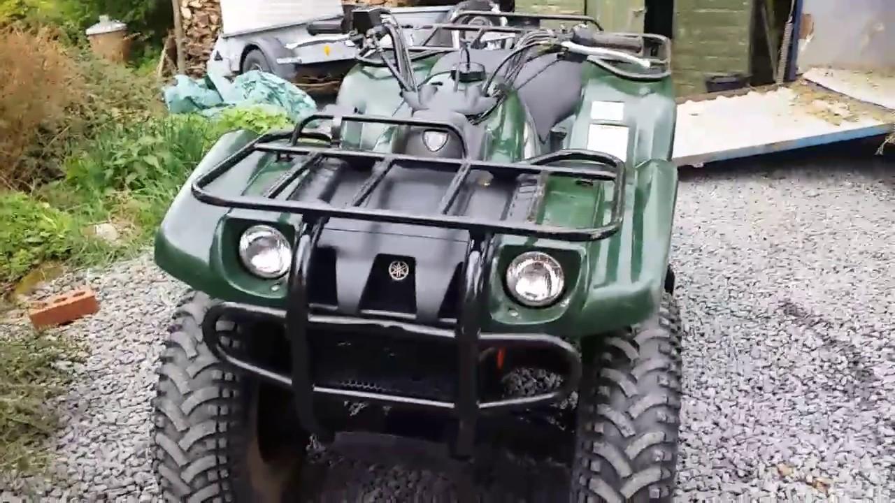 quad yamaha kodiak 400 4x4
