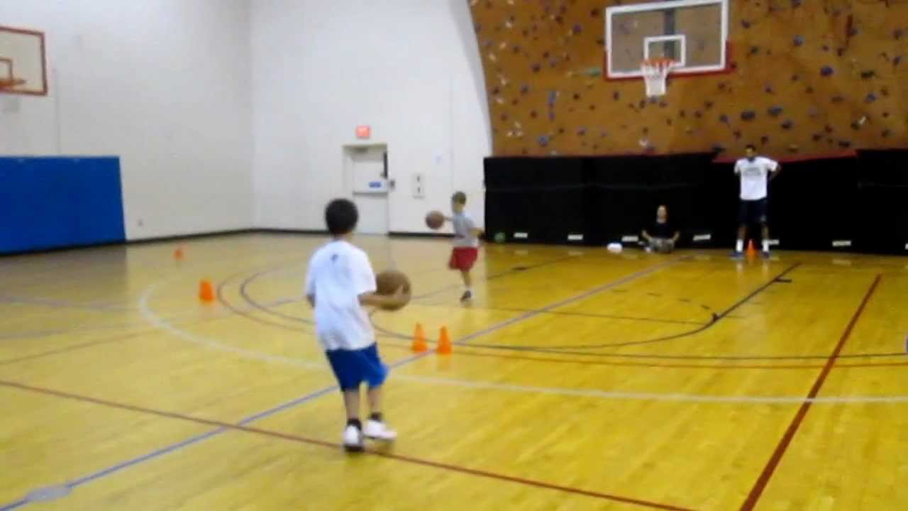 medium resolution of Excel Sports Basketball K- 3rd grade skills practice - YouTube