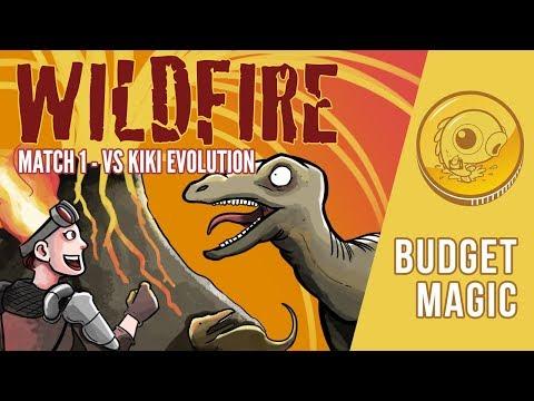 Budget Magic: Wildfire vs Kiki Evolution (Match 1)