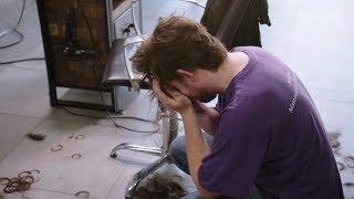 Nie ma co płakać nad..ściętymi włosami? Uczestnik nie mógł pogodzić się ze stratą. [Ostatnia szansa]