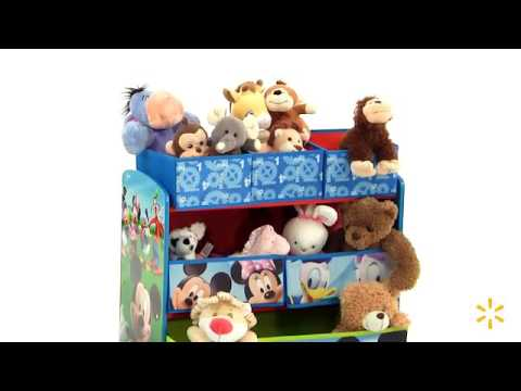 Disney Multi Bin Toy Organizer Mickey Mouse Youtube