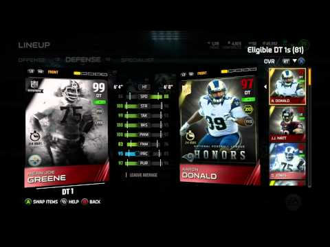 Madden 15 Ultimate Team-We Snagged 99 Barry Sanders And 102 Hit Power Kam Chancellor! Madden 15 MUT