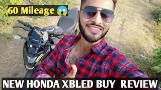 New Honda Xbled Buy Review On My Style 60 Mileage 😱😱