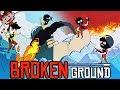 I HAVE THE HIGH GROUND! | Multiplayer Artillery Game (Broken Ground)