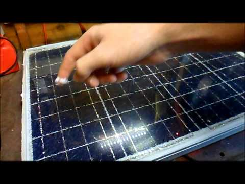 40w Solar Panel Repair And Installation
