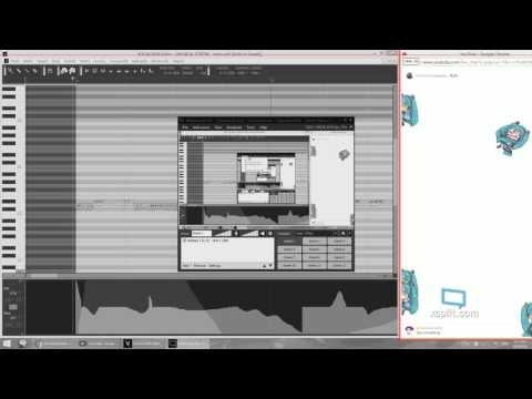 Short Heavy Cross-Synth Test ft. Miku Hatsune V3 Sweet/Dark/Solid