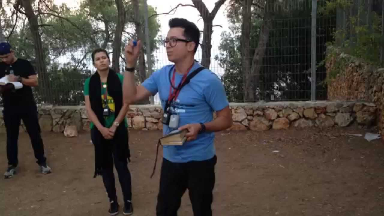 Pastor Lucinho Barreto - Monte Carmelo - Israel 2013