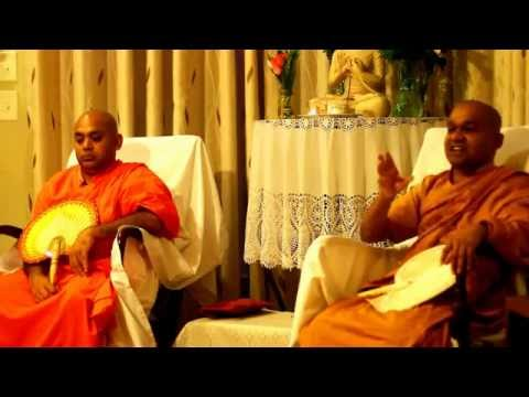 VEN. MAWARALE BHADDIYA THERO AT CARY, NC