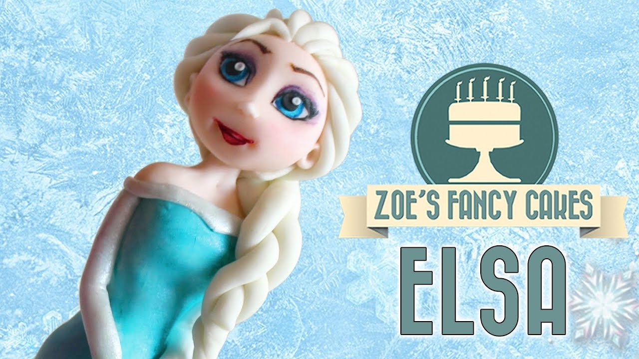 Frozen Elsa Cake Topper