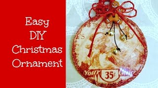 Easy Christmas Ornament DIY