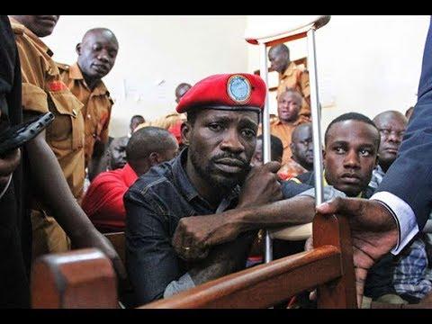 Bobi Wine gets arrested by heavily armed police officers in Uganda