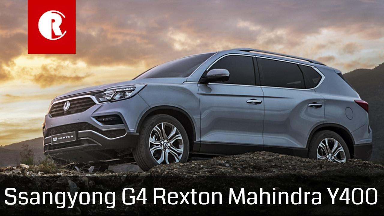 Mahindra Ssangyong G4 Rexton SUV boasts five-star safety