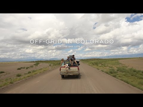 Off-grid living in Colorado