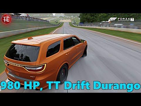 Forza Motorsport 7: Twin Turbo, 980 HP, Dodge Durango SRT DRIFT BUILD