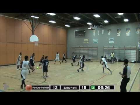 Basketball Juvénile: Honoré-Mercier vs Saint-Henri (21 février 2013)