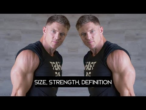 Complete Tricep Workout - Train for Size, Strength and Definition