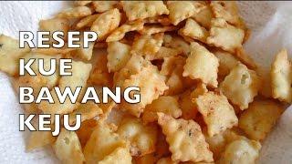 Kue Bawang - Cara Membuat Kue Bawang Keju - Onion Cheese Crackers II Cook Like Kayka MP3