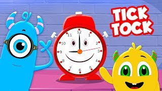 Tick Tock | Momo Beats Cartoons | Videos For Children By Kids Channel