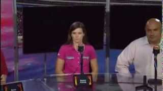 Danica Patrick Breast Cancer Awareness Video News Conference
