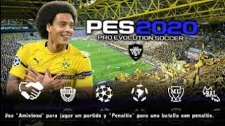PES 2020 PPSSPP Iso English Android Offline Multi Language Best Graphics