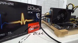 Про Sapphire PULSE ITX RX 570 4gb и тест в майнинге (Elpida)