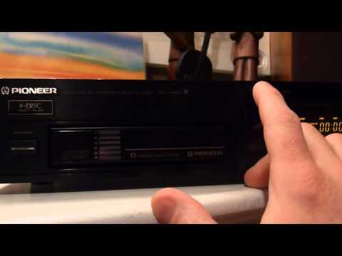 Pioneer Six Compact Disc Magazine