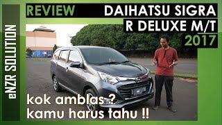 REVIEW DAIHATSU SIGRA 2017 R Deluxe Manual | enzr solution | indonesia